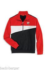 DUCATI CORSE ´12 Pullover Sweatshirt mit Zipper schwarz / rot NEU !!