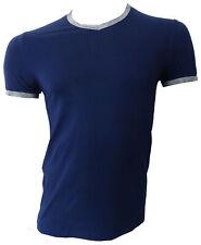 T-shirt maglia Alviero Martini Underwear 1a Prima Classe Uomo man scollo a V man