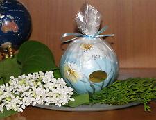 Design-Kerze* florales Motiv*Blumen & Schmetterlinge,versch. Formen/Größen*edel