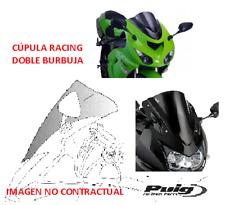 0514 PUIG Cupula pantalla Racing doble burbuja KAWASAKI ZX 6R (2001-2002)