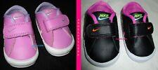 scarpe bambina neonato neonata NIKE ROSA VIOLA NERO BIANCO  N 16 - UK 0,5 - CM 7