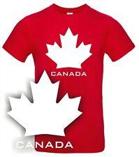 T-Shirt CANADA Kanada Ahorn Blatt Icehockey Eishockey Shirt NHL Reisen Urlaub
