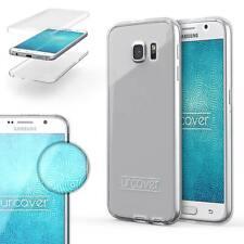 Samsung Galaxy S6 TPU Case 360 Grad Schutz Hülle beidseitig Cover Touch Case