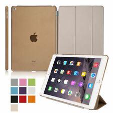 Smart Piel Imán trasera Funda para Apple iPad 2 3 4 Mini 2 3 4 iPad Air 2