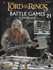 El Señor De Los Anillos Juegos de batalla de los problemas de revista - 21 - 30 anuncio de varios
