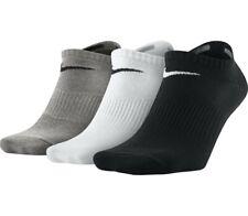 Nike Performance Ammortizzato LIGHTWEIGHT NO SHOW CALZINI INVISIBILI Tg UK 5-8