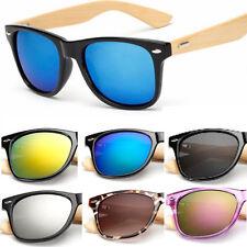 Gafas de Sol Para Hombre y Mujer Anteojos Espejuelos de Madera Lentes