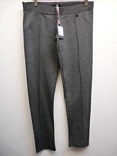 "AMY GEE gris cropped slim pantalon medium L26"" £ 35 bnwt"