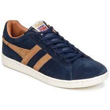 Sneakers Scarpe uomo Gola  EQUIPE SUEDE  Blu Cuoio  2494208