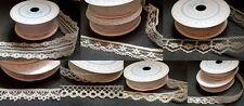 Jolie dentelle 7 designs sur 3m rouleaux vintage wedding gowns et décorations