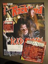 ROCK HARD METAL MAGAZINE 170 - 2001 - ICED EARTH SLAYER SAVATAGE EMPEROR INCL CD