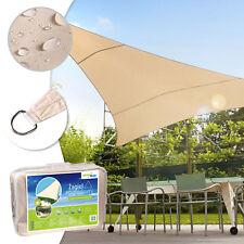Sonnenschutz Windschutz Regenschutz Sichtschutz UV-Schutz Quadrat Dreieck Set