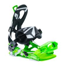 SP™ CORE Fastec Green/Black 2018 Snowboarding Bindings size M, L, XL