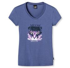 SCHIESSER Mädchen Mix & Relax T-Shirt KATZE V-Ausschnit  140 152 164 176 Shirt