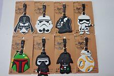 NEW Luggage Labels Tags Star Wars Darth Vader Stormtrooper Boba Fett 9 designs