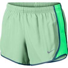 Nwt Nike Girls' Tempo Tennis/Running Shorts (Mint/Electro Green) 848196-343