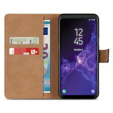 Handy Hülle für Samsung Galaxy S9 Plus J6 A6 Note 9 Tasche Leder Flip Case Cover