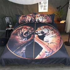Angry Leopard Hands Touch 3D Digital Print Bedding Duvet Quilt Cover Pillowcase