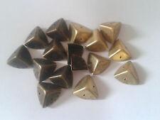 4 ou 8 x Vintage poitrine affaire troncs boîte coins protecteurs en laiton