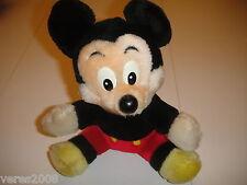 DisneyLand Walt Disney World Mickey Mouse Plush Vintage Stuffed Animal