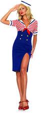 NEW Deckhand Diva Adult Costume Fancy Dress Australian Seller,