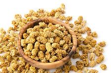 Weiße Maulbeeren - getrocknet, ungeschwefelt, knusprig, Snack