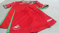 Genuine Swansea City Unisex Junior Kids Away Kit 2017/18 (Shirt & Shorts Only)