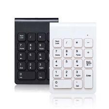 Portable 2.4G Wireless Digital Keyboard USB Number Pad 18 Keys Numeric Keypad