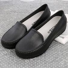Women Loafers Nurse Work Shoes Non-slip Wearproof Leisure Shoes Lady Slip-On