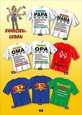 Fun COLLECTION Camiseta Familia Papa Mamá Abuelo Regalo Elección Estampado
