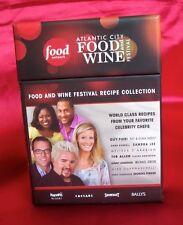 Food Network Atlantic City Festival Recipe Cards & More