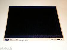 Microfich Ersatzteilkatalog Ford Transit 92 Stand 02/1994