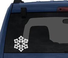 Snowflake Pattern #4 - Winter Art Christmas Decoration - Car Tablet Vinyl Decal