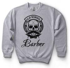 Barber Sweatshirt Old School Barber Sweater Barbershop Sweater