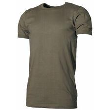 NEU: BW BUNDESWEHR UNTERHEMD kurzarm oliv 4-10, T-Shirt halbarm grün Baumwolle