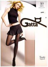 """Gatta """"Nasty 40"""" Hüftstrumpfhose versch. Farben Gr. S - M - L"""