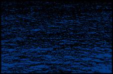 Fußmatte Schmutzfangmatte waschbar Gummirand 75x50 cm Maritim Wasser