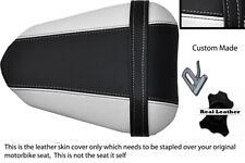 BLACK&WHITE CUSTOM FITS YAMAHA 1000 YZF R1 04-06 REAR PILLION SEAT COVER