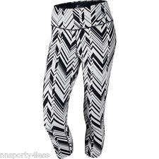 Nike 642516 Women's Legendary Freeze Frame Printed Capris $95 Training Pants