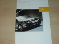 31826) Opel Astra Prospekt 2004
