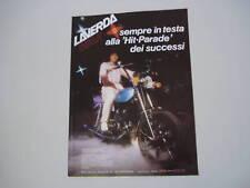 advertising Pubblicità 1981 MOTO LAVERDA LZ 125 WILD