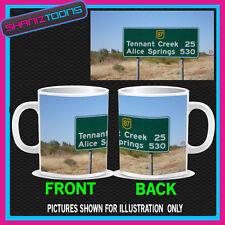 Australia ROAD SIGN ALICE PRIMAVERA TAZZA PICTURE