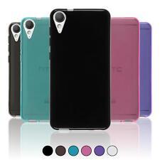 Silikon Hülle für HTC Desire 10 Lifestyle  transparent + 2 Schutzfolien