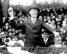 President Woodrow Wilson throws first pitch of 1916 baseball season Photo Print