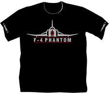 F4 Phantom T-Shirt Mc Donnell Aircraft Kampflugzeuge Fliegershirt Flugsport 46