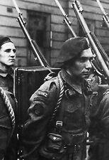 """WW2 - Commandos Marine français """"Kieffer"""" à Londres en 1942"""