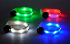 LED Light Up White Safety Armband - Pet/Dog/ Cat Safety Collar