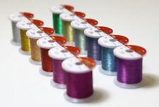 [HITENA] STWRAP Rod Wrapping Thread - Metallic Zebra 12 Color Pack