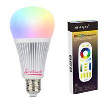 9W RGB+CCT Mi Light LED Bulb E27 Dimmable LED Lamp with FUT092 RGBW Remote
