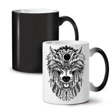 WOLF Spaventoso Animale NUOVO colore modifica Tè Tazza Da Caffè 11 OZ (ca. 311.84 g) | wellcoda